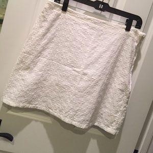 Cotton skirt banana republic