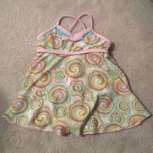 Other - Whimsical swimming suit for girls
