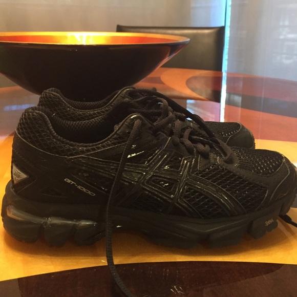 Asics Shoes   Asics Gt00 Duomax Black