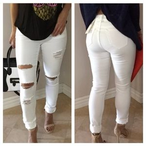 Butt Lifting Jeans ‼️distressed skinny jeans