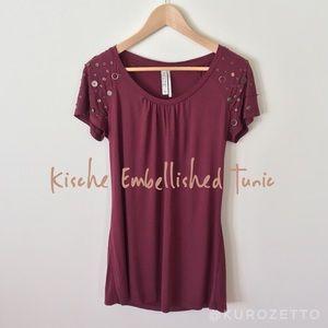 Kische Tops - Kische Embellished Tunic