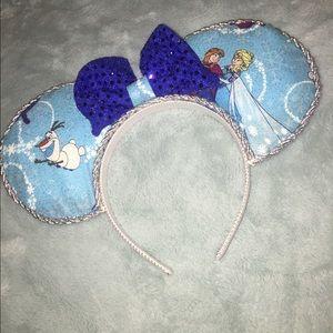 Handmade Frozen Mickey Ears