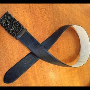 Accessories - Black Jewel Belt