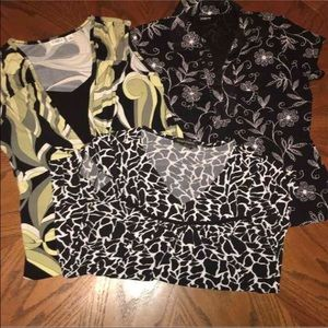 Tops - 3 Blouses Size Small