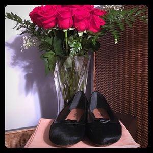 Alaia Shoes - NWT Alaia Paris Black Calf Hair Flats Sz 7/37