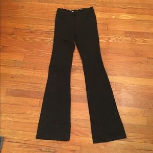 Anthropologie High rise flare jeans