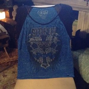 Buckle Tops - SINFUL BY AFFLICTION TOP BUCKLE *REMOVING SOON****