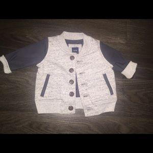 GAP Other - Baby Gap Blue & Grey Jacket