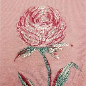 Girl's pink short sleeve tee  shirt