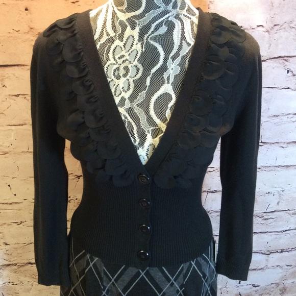 Nine West - NINE WEST DRESSY BLACK CARDIGAN/SWEATER from ...