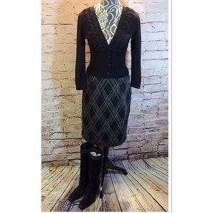 Nine West Sweaters - NINE WEST DRESSY BLACK CARDIGAN/SWEATER