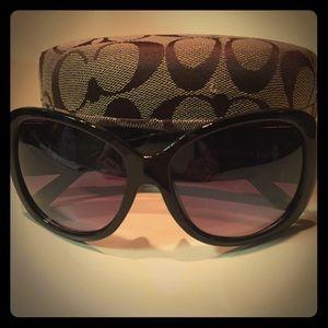 Accessories - Coach Faux sunglasses and case