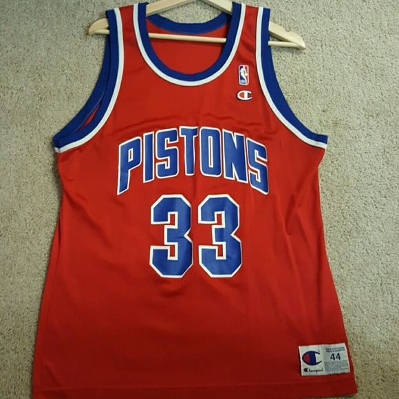 9c68655c0 Champion Other - Grant hill Detroit piston jersey (red) nba
