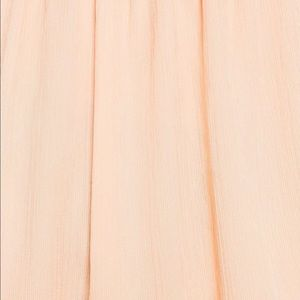 500c21d9 Zara Long maxi Nude Pink Dress, cape sleeve NWT