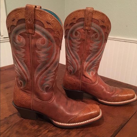 d812ee4e581 Ariat Women's Legend Wingtip Western Boots