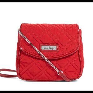 Vera Bradley Crossbody Bag Tango Red New