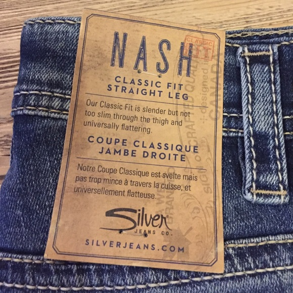 43% off Silver Jeans Other - NWT Mens silver jeans size 33/32 ...