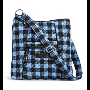 Vera Bradley Crossbody Bag Alpine Checkered NWT