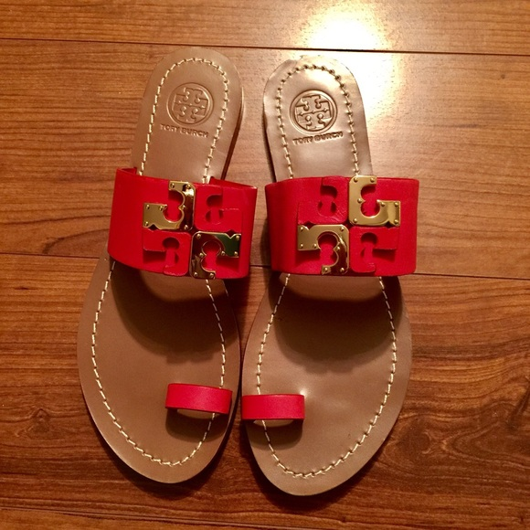 04e1d4e12 Tory Burch Lowell Flat Slide Sandals. M 57de1ca4f09282154e03378d