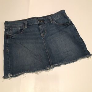 Old Navy Jean Skirt size 8