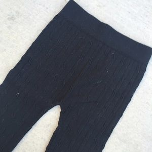 Pants - Textured Sweater Tights (NWOT)