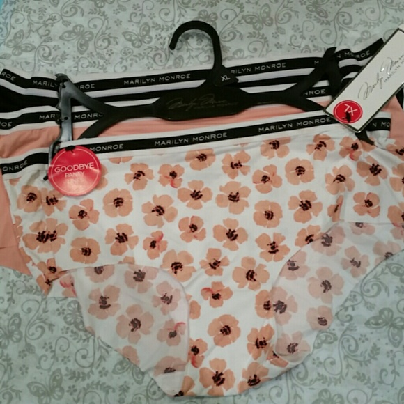 b0b428b6dbb8 Marilyn Monroe Intimates & Sleepwear | 3 Pack Seamless Panty Set ...