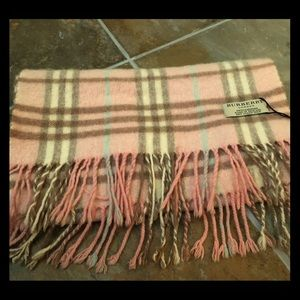 Burberry Accessories - Authentic Burberry Cashmere Scarf