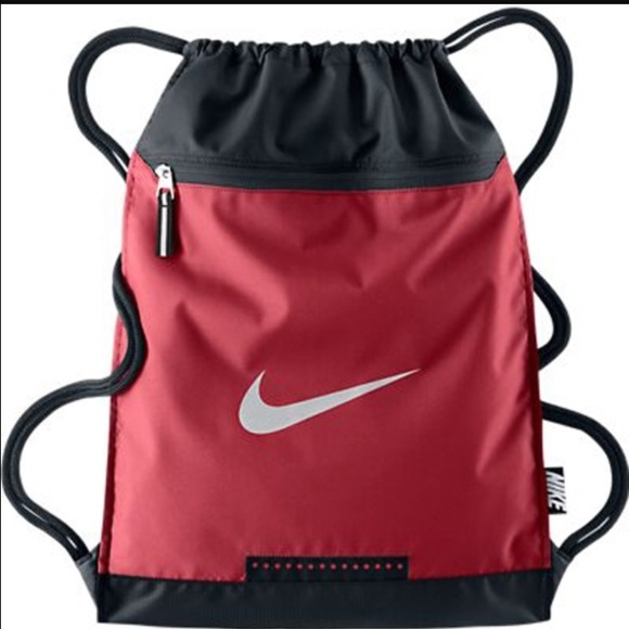 33573ed8bb90 Red Nike drawstring bag NWOT. M 57de489613302af04b02fb43
