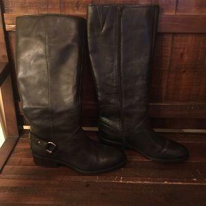 Ralph Lauren Wide Calf Riding Boot