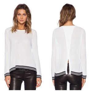 Rag and Bone Nikki split back sweater