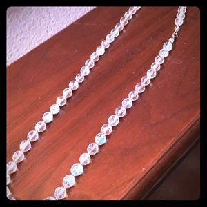 Jewelry - REDUCED PRICE Vintage crystal necklace
