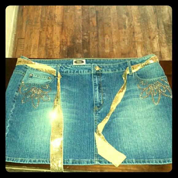 49% off Elite Jeans Dresses &amp Skirts - Fashion statement plus size