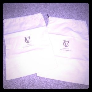 Vince Camuto Handbags - 💯VINCE CAMUTO SIGNATURE SHOE DUSTBAGS