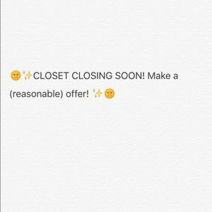 Madewell Dresses & Skirts - Closing my closet in TWO DAYS!!