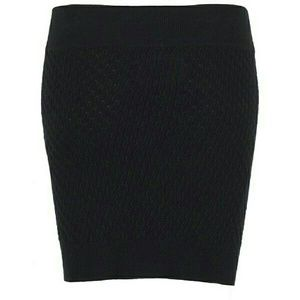 All Saints Dresses & Skirts - All Saints Black Knit Mini Skirt