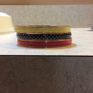 J.Crew enamel bracelets