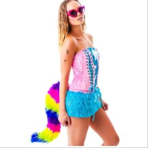 J. Valentine Rainbow  pony Halloween costume