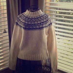 Adorable NWOT charter club fair isles sweater