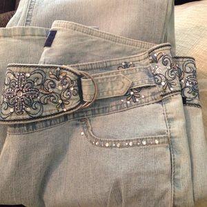 Angels Denim - Jewel Waist Jeans Sz 15