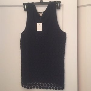 NWT j.Crew factory navy blue tank