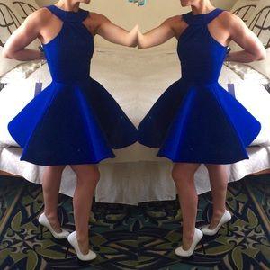 """AQ/AQ Dresses & Skirts - 🎉HP🎉 AQ/AQ """"Jetsens""""  halter foam skirt dress"""