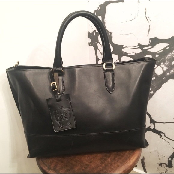 Massimo Dutti Shopping Bag - black