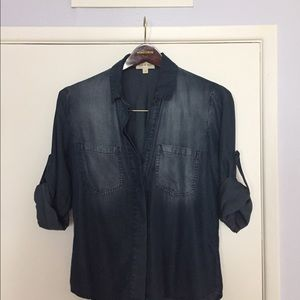 Anthropologie soft denim shirt by Cloth & Stone