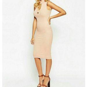 Asos Ribbed Midi Dress