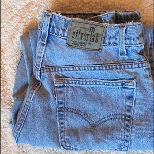 Urban Outfitters Denim - Vintage Silvertab High Waisted Levis