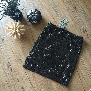 Sequined HM mini skirt (party, costume, birthday)