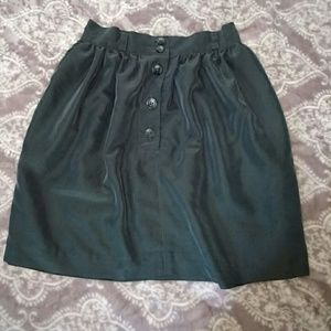 Urban Outfitters Dresses & Skirts - Kimchi Blue Button Skirt With Belt Loops