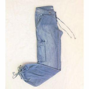 London Jeans Denim - London Jeans- Chambray Pants