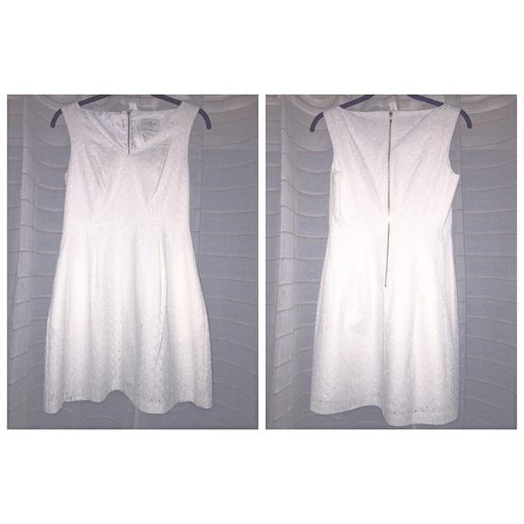 kate spade Dresses & Skirts - Kate Spade White Susannah Dress Size. 2