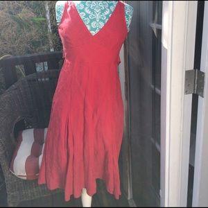 MaxMara Dresses & Skirts - Max Mara weekend red sleeveless dress Size 4 used